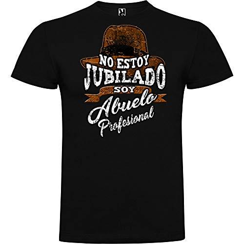 AMM AEROGRAFIA Camiseta Abuelo Profesional (XL)