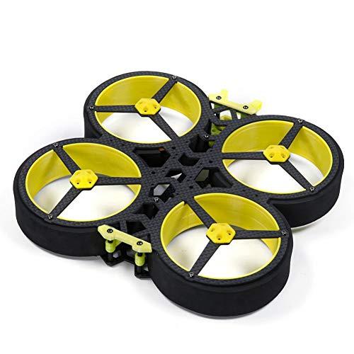 JIJIONG Für Hummel Hd 3 Zoll 142Mm FPV Cinewhoop Rahmen mit 2Mm Arm/Propeller kompatibel 3 Zoll Propeller FPV Racing Drohne