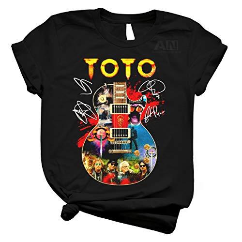 ToTo Rock Band Guitar T-Shirt, Long Sleeve, Hoodie, Sweatshirt Black