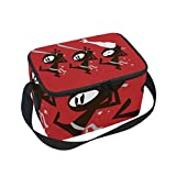 TIZORAX Ninja - Bolsa térmica para el almuerzo, para hombres, mujeres y niños