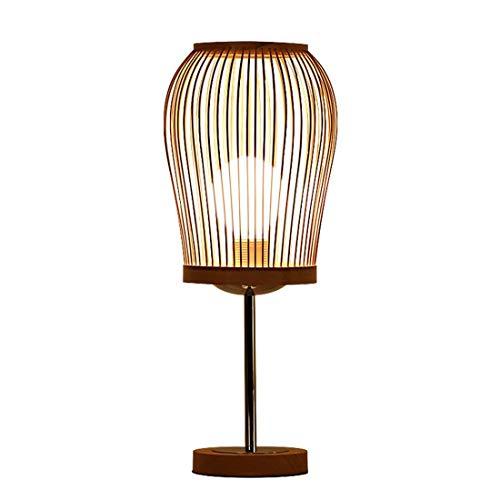 BYDXZ / Godess4 Moderne Einfache Kreative IKEA Pastoralen Augenschutz Dekoration Bambus Licht Massivholz Lampe E27 Studie Schlafzimmer Nachttischlampe Wohnzimmer 19 * 45 cm
