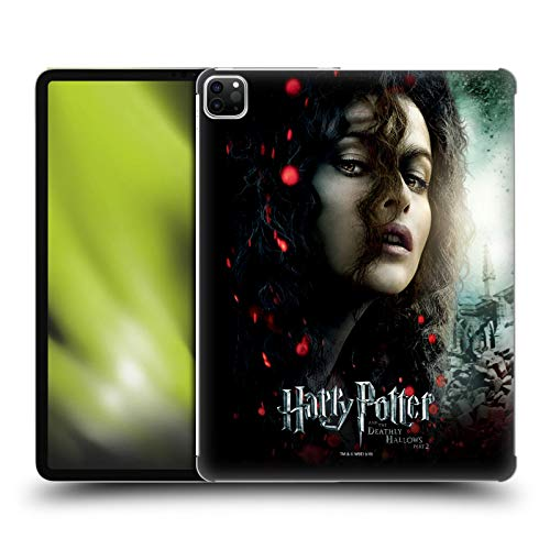 Oficial Harry Potter Bellatrix Lestrange Deathly Hallows VIII Carcasa rígida Compatible con Apple iPad Pro 12.9 (2020)