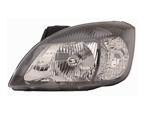 Aftermarket KI53301D - koplamp rechts met zwart frame