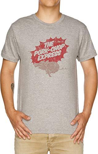 Vendax The Pork-Chop Express T-Shirt Uomo Grigio