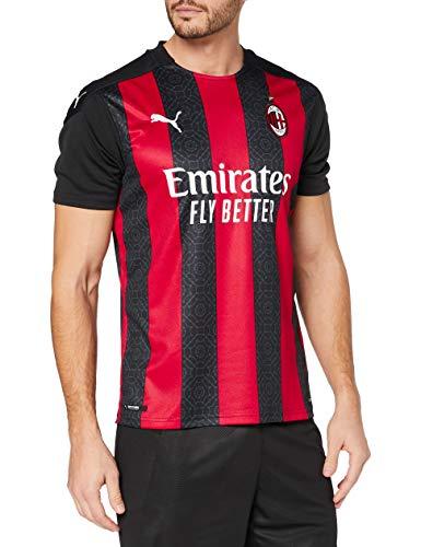 Puma ACM Home Shirt Replica Maglietta, Uomo, Tango Red -Puma Black, M