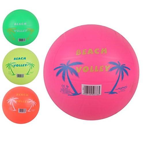 Globo Toys Globo 50776 - Pallone da spiaggia estivo, 220 mm, 3 colori