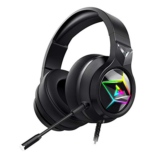 Xingyao 7.1 Professional E-sports Gaming Headset Colorful Wire Headset, Kopfmontiert Kopfhörer,MIC Headphone, für PC Laptop