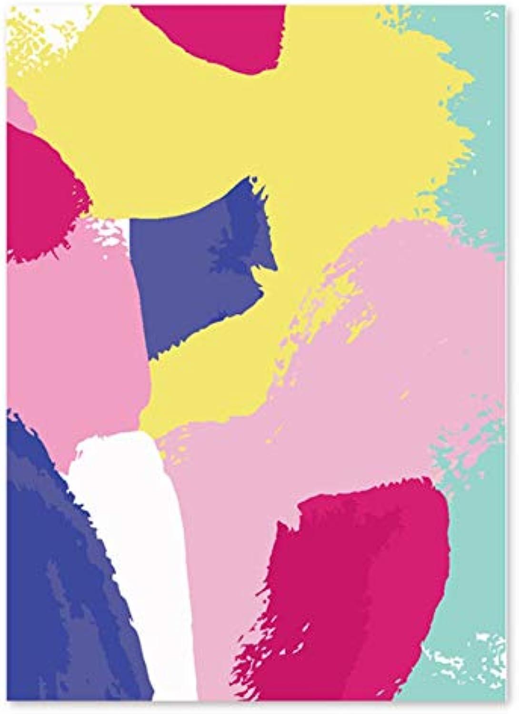 Superlucky DIY Digitale Malerei, abstrakt, MultiFarbe, Dekorationen, Handwerker, Phantasie 40x50cm mit Rahmen B07K4TBRKC | Ich kann es nicht ablegen