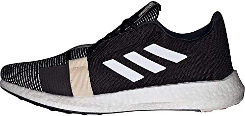 adidas SenseBOOST GO m, Zapatillas de Running Hombre, Negbás/Ftwbla/Lino, 46 2/3 EU