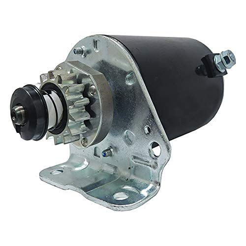 New Starter Replacement For Briggs and Stratton Cub Cadet 14.5 16 16.5 17 17.5 18 18.5 HP John Deere New Holland Toro 14 Tooth Steel Gear 593934 693551 LG693551 BS693551 SE501848