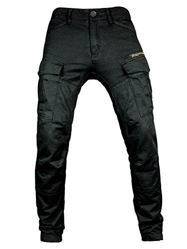 John Doe Motorrad Hose Pants Stroker Black-W34-L32-XTM