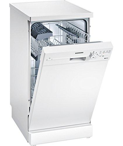Siemens iq100sr24e205eu autonome 9places A + Spülmaschine–Geschirrspülmaschinen (autonome, weiß, Full Size (60cm), weiß, Knöpfe, drehbar, 1,75m)