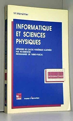 Informatique et sciences physiques