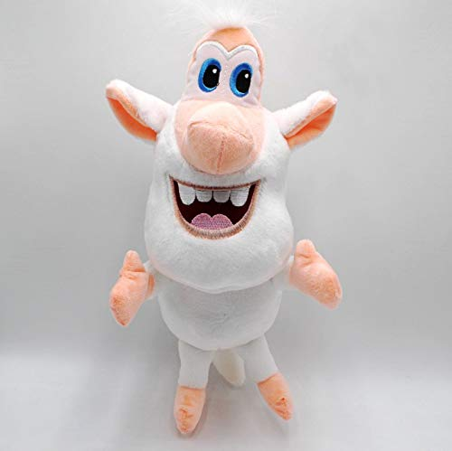 N/K Booba Buba Peluche Maialino Bianco Giocattoli Animazione Russa Simpatiche Bambole Regalo per Bambini 35cm/1pcs