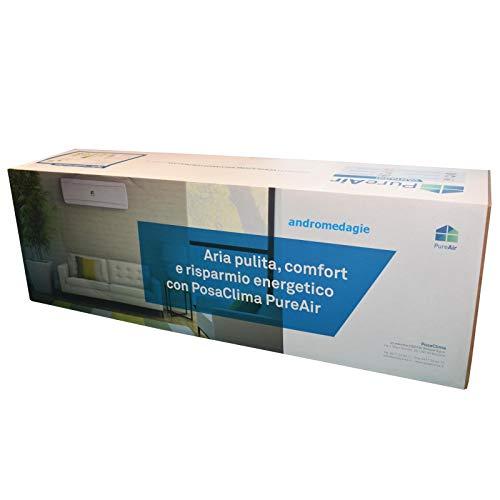 VMC POSACLIMA PUREAIR Sistema VMC descentralizado con recuperación de calor