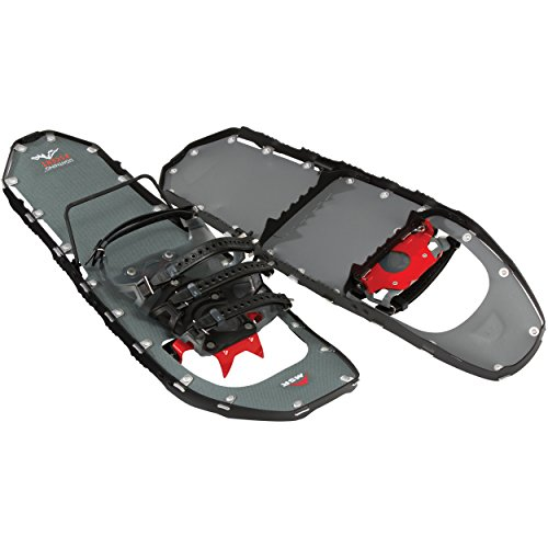 MSR Lightning Ascent Ultraligero Todo Terreno Botas para montañismo y Uso de Acampada, Hombre, Negro, 22 Pulgadas