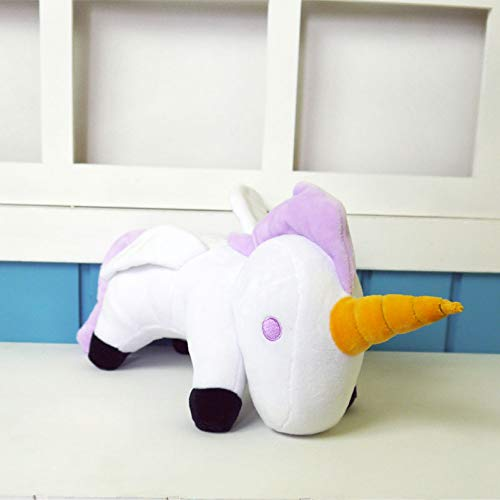 zcm Juguete de Peluche Azur Lane Plush Toy Unicorn 30cm Cosplay Short Plush Cute Doll para Regalo