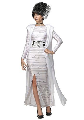 Plus Size Bride of Frankenstein Costume for Women 2X White