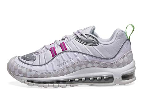 Nike Air MAX 98 Mujeres Running Trainers CJ9702 Sneakers Zapatos (UK 4 US 6.5 EU 37.5, Barely Grape 500)
