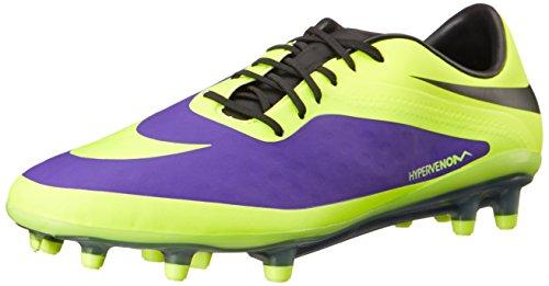 Nike Hypervenom Phatal FG 599075 Purple 570 Lila Fußballschuhe, Größe:39, Farbe:Lila