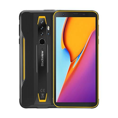 Teléfono inteligente de alta tecnología IP68 / IP69K / MILSTD810G impermeable a prueba de polvo a prueba de golpes, Quad Volver Cámaras, 4380mAh de la batería, identificación de huellas dactilares, de