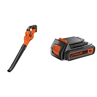 BLACK+DECKER GWC1820PC-QW Soffiatore + BL2018-XJ Batteria al Litio, 18 V, 2.0 Ah (B06XRB8RPK) | Amazon price tracker / tracking, Amazon price history charts, Amazon price watches, Amazon price drop alerts