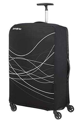Samsonite Travel Accessories 5 - Foldable Luggage Cover S, Cover per Valigia, Black (Nero)