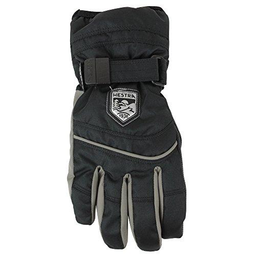 HESTRA Primaloft 5-Finger Handschuhe Kinder Black/Earth Handschuhgröße 4 2019 Outdoor Handschuhe