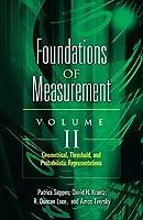 Foundations of Measurement Volume II: Geometrical, Threshold, and Probabilistic Representations (Dover Books on Mathematics)