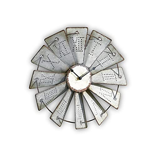 Rustic Looking Windmill Clocks For Sale