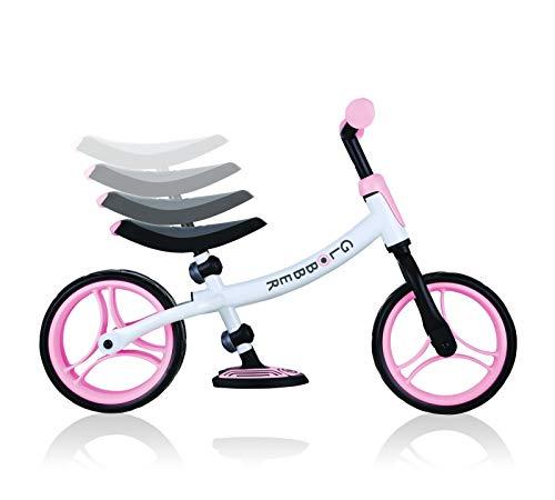 Go Bike Duo - Bicicleta sin pedales de balance bike globber pastel pink