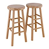 "Winsome Oakley Stool, 24"", Natural"