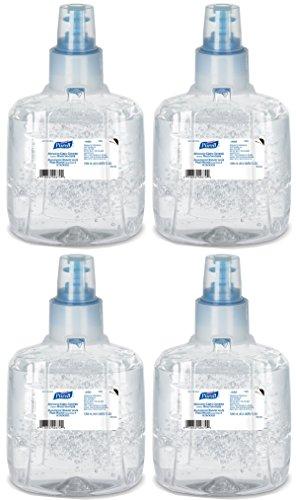 Purell AQSSDQC 1903-02 LTX Refill Advanced Green Certified Hand Sanitizer, 1200 ml, 2 Refill, 4 Pack