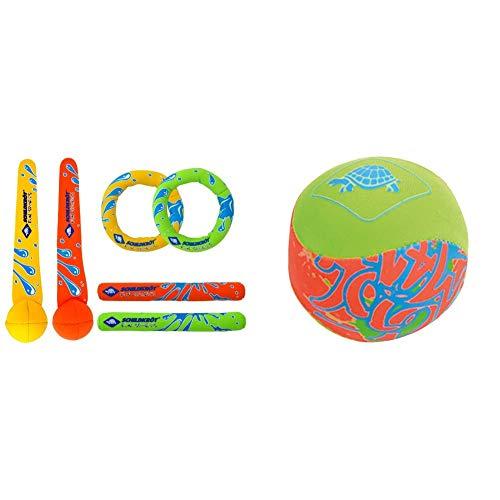 Schildkröt Funsports - Ballspiele in Neopren Diving Set, 970207, Größe M