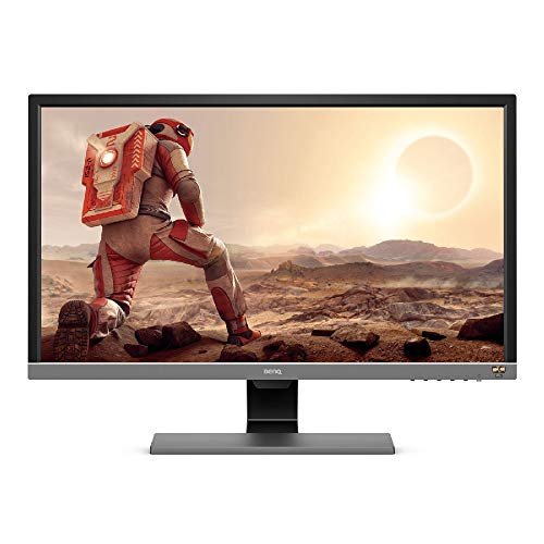 BenQ Gaming Monitor 1ms/HDMIx2/DP/HDRi/speaker 28 Zoll (UHD) grijs, metallic