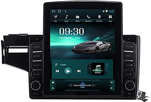 Schermo Verticale 9.7 Pollici Android 9.1 Lettore multimediale per Auto Honda Fit Jazz LHD RHD 2014-2020, GPS Stand Browser Autoradio USB BT Volante, TS400