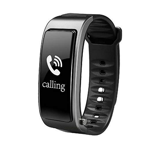 LFJNET Earbuds SmartWatch,Bluetooth Y3 Color Headset Talk Smart Band Bracelet Heart Rate Monitor Sports Smart Watch Passometer Fitness Tracker Wristband Silver Grey