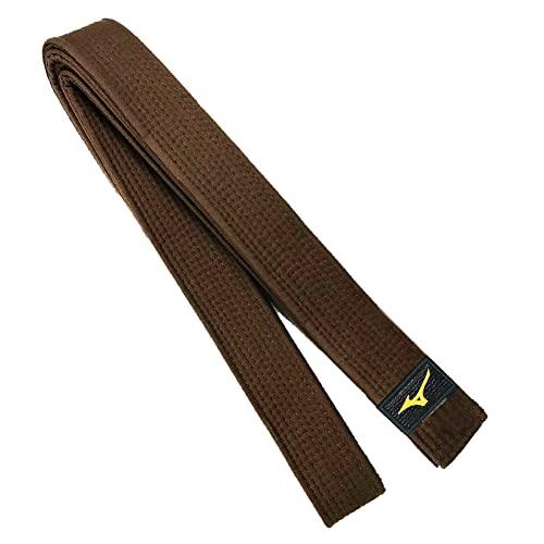 Mizuno - Cintura Obi da judo, marrone