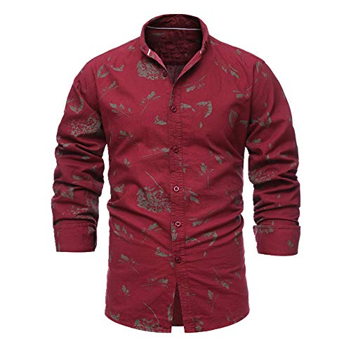 N\P Camiseta de manga corta para hombre con estampado completo de primavera