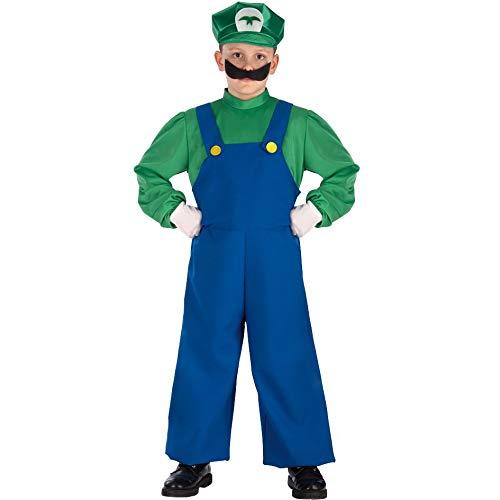 carnival toys 63343 Disfraz de Super Mario 8/9 de Luis