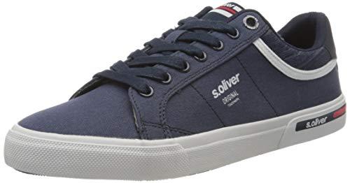 s.Oliver Herren 5-5-13604-24 Sneaker, Blau (Navy 805), 41 EU