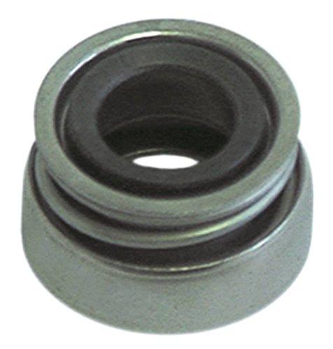 Gleitringdichtung für Wellendurchmesser 13mm Aussen 24mm ø 11mm Höhe 13mm
