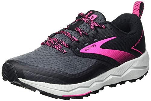 Brooks Divide 2, Zapatillas para Correr Mujer, Black Ebony Pink, 42 EU