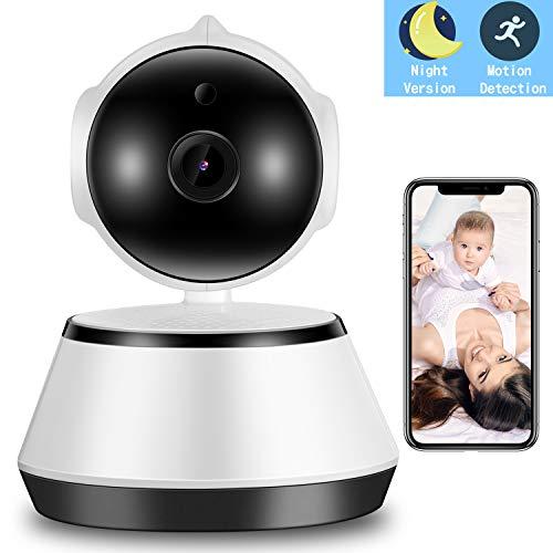 WiFi IP Camera Baby Monitor Huisdier Camera Monitor IR Nachtzicht Twee-weg Audio Beweging en Geluid Detectie