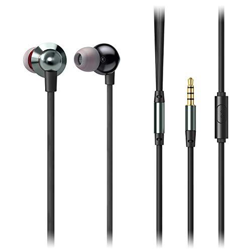 AUKEY EP-C8 - Auriculares In-Ear con MICR¨Fono, Auriculares Boton con...