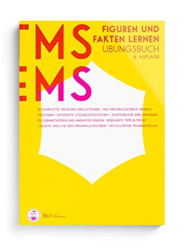 Medizinertest TMS / EMS 2020 I Figuren lernen und Fakten lernen I Übungsbuch für den Medizin-Aufnahmetest in Deutschland und der Schweiz I Zur idealen Vorbereitung auf den Test für medizinische Studiengänge