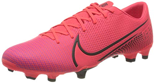 Nike Vapor 13 Academy FG/MG, Botas de fútbol Hombre, Rotulador láser Crimson Black Laser Crim 606, 44 EU