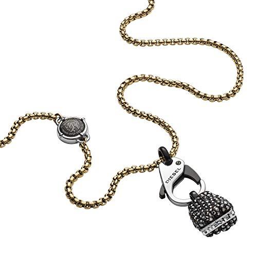 Diesel Collar con colgante Hombre acero inoxidable - DX1177710