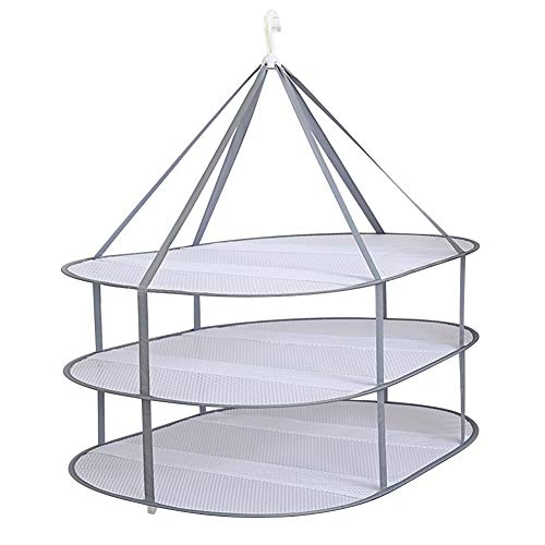 Drying Net 1/2/3 Layers Hanging Dryer Rack Foldable Drying Rack Foldable Hanging Drying Net Underwear Mesh Hanging Drying Net Plush Toys Laundry Net Clothes Dry Nets