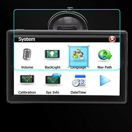 Protector de Vidrio Templado Película Protectora de Acero, para Junsun D100, navegación GPS para Coche FM Bluetooth 2018 navegadores GPS